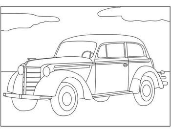 Раскраски Opel 🖌 скачать и распечатать онлайн