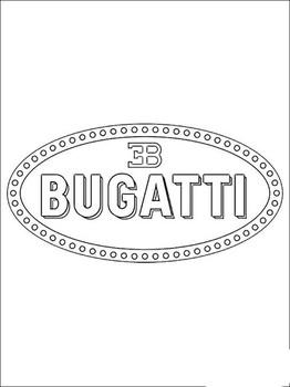 Раскраски Бугатти 🖌 скачать и распечатать онлайн