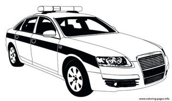 Раскраски полицейские машины🖌 скачать и распечатать онлайн