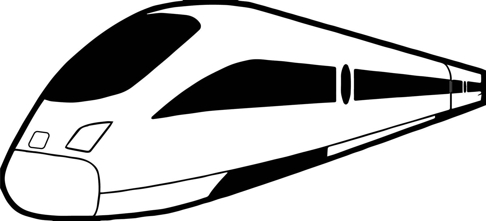 Раскраски Поезд Сапсан 🖌 скачать и распечатать онлайн