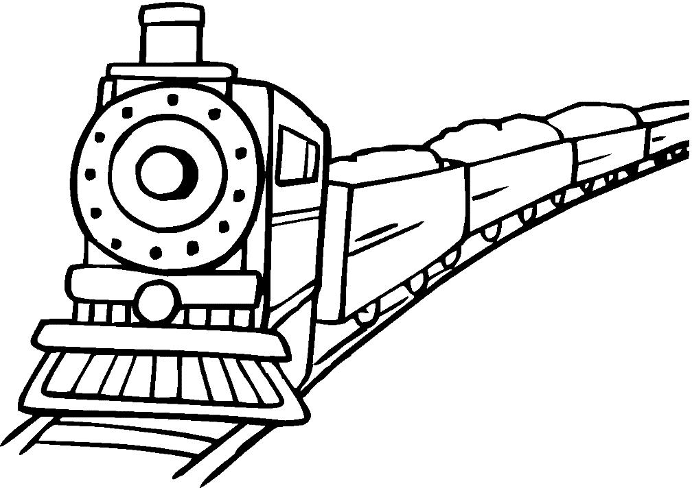 Раскраски Грузовые поезда 🖌 скачать и распечатать онлайн