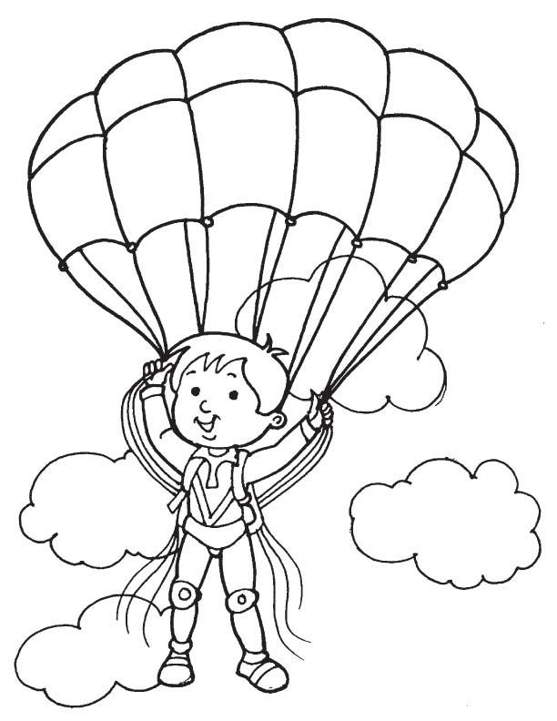 Старых, парашютист картинки для детей распечатать