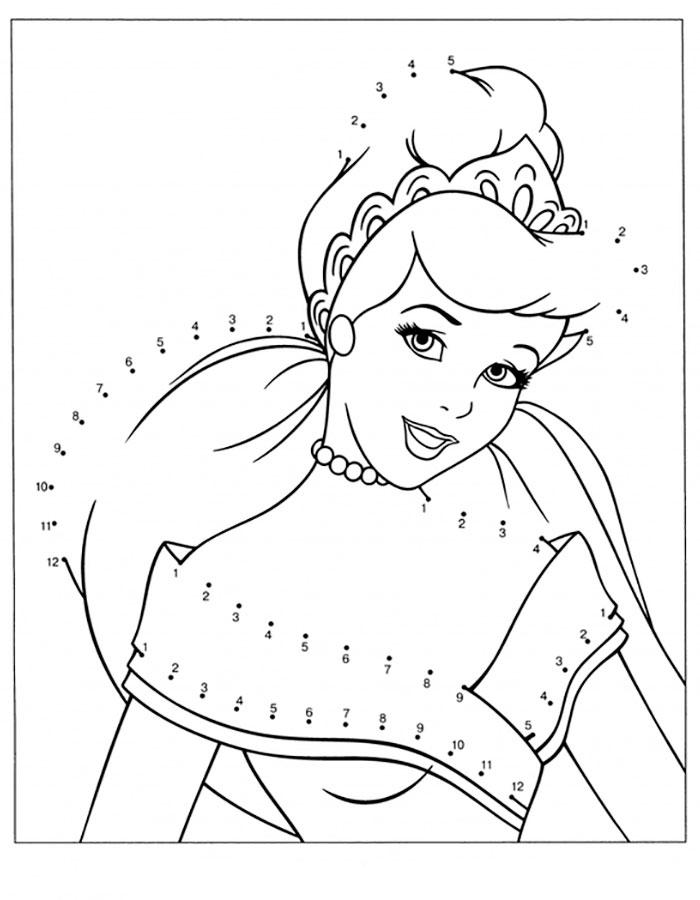 раскраски принцессы диснея скачать и распечатать онлайн